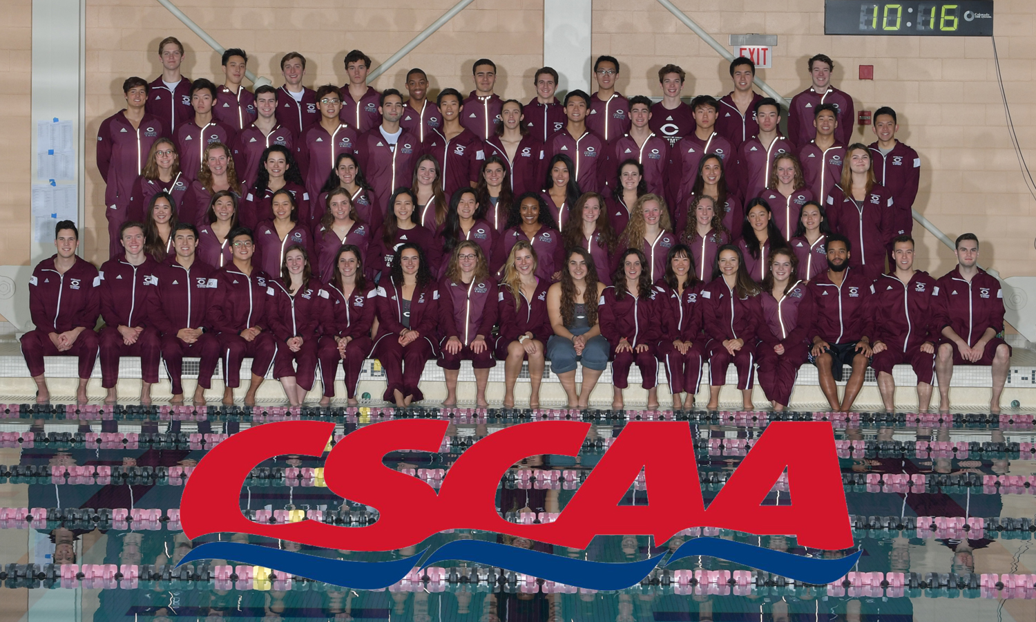 Maroon Swimming & Diving Racks Up 32 CSCAA All-Americans