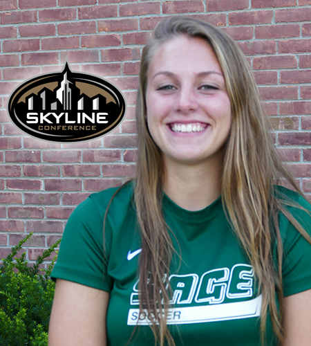 Robataille Named Skyline Women's Soccer Rookie of the Week