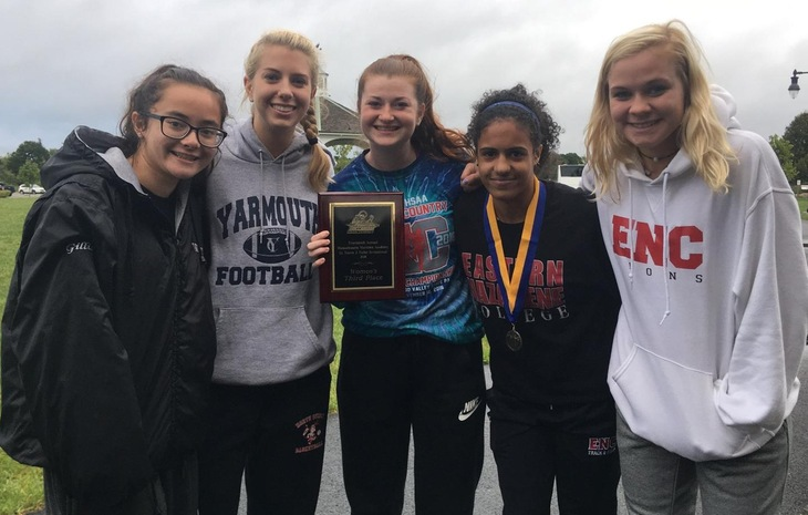 Women's Cross Country Takes Third at Mass. Maritime Invitational; Kingsley Claims Individual Crown