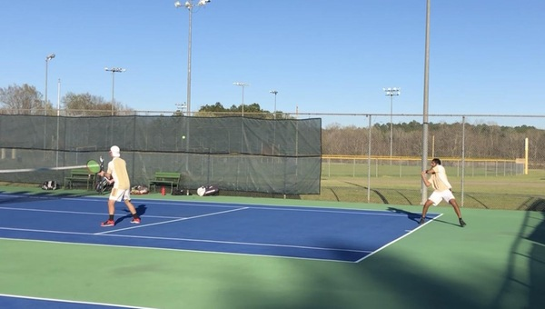 Men's Tennis Blanks Centenary 9-0