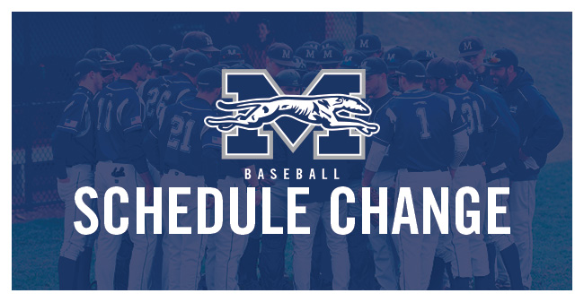 Baseball Makes Schedule Changes for May 6-7