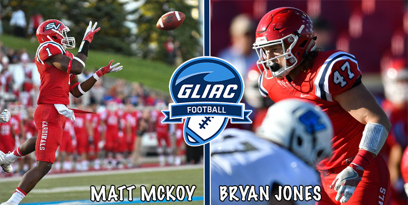 Matt McKoy Named GLIAC Defensive Back of the Year; Bryan Jones Earns Second Team All-GLIAC Honors