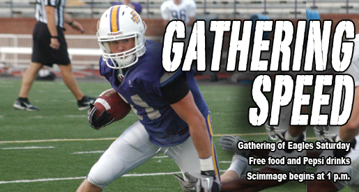 REMINDER: Gathering of Eagles is Saturday in Tucker Stadium