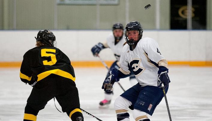Four Goal Third Period Sinks Blugolds