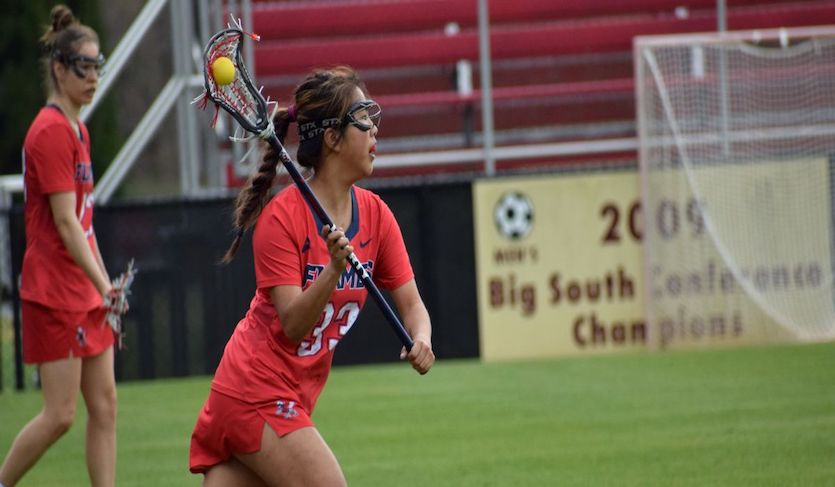 Second Half Surge Lifts Liberty Past Winthrop, 10-5