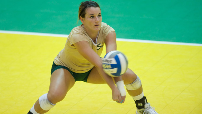 VOLLEYBALL FALLS TO CAL POLY; MUSTANGS CROWNED SACRAMENTO STATE INVITE CHAMPIONS