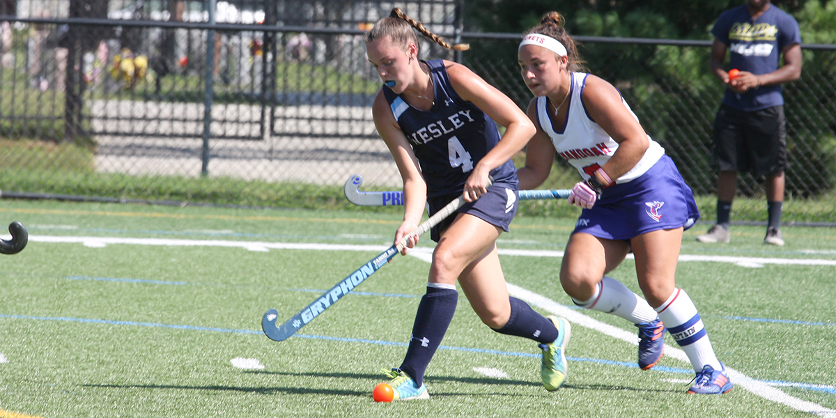 Field Hockey holds on to defeat McDaniel, 3-2 on the road