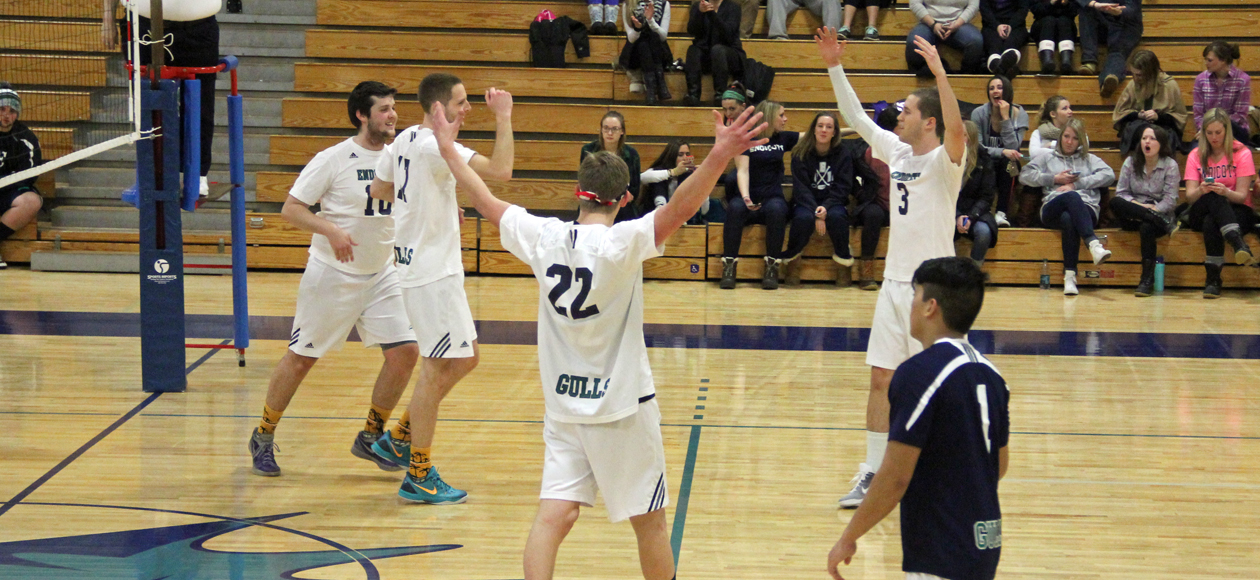 Men's Volleyball Wins Home Opener in Straight Sets over Elms