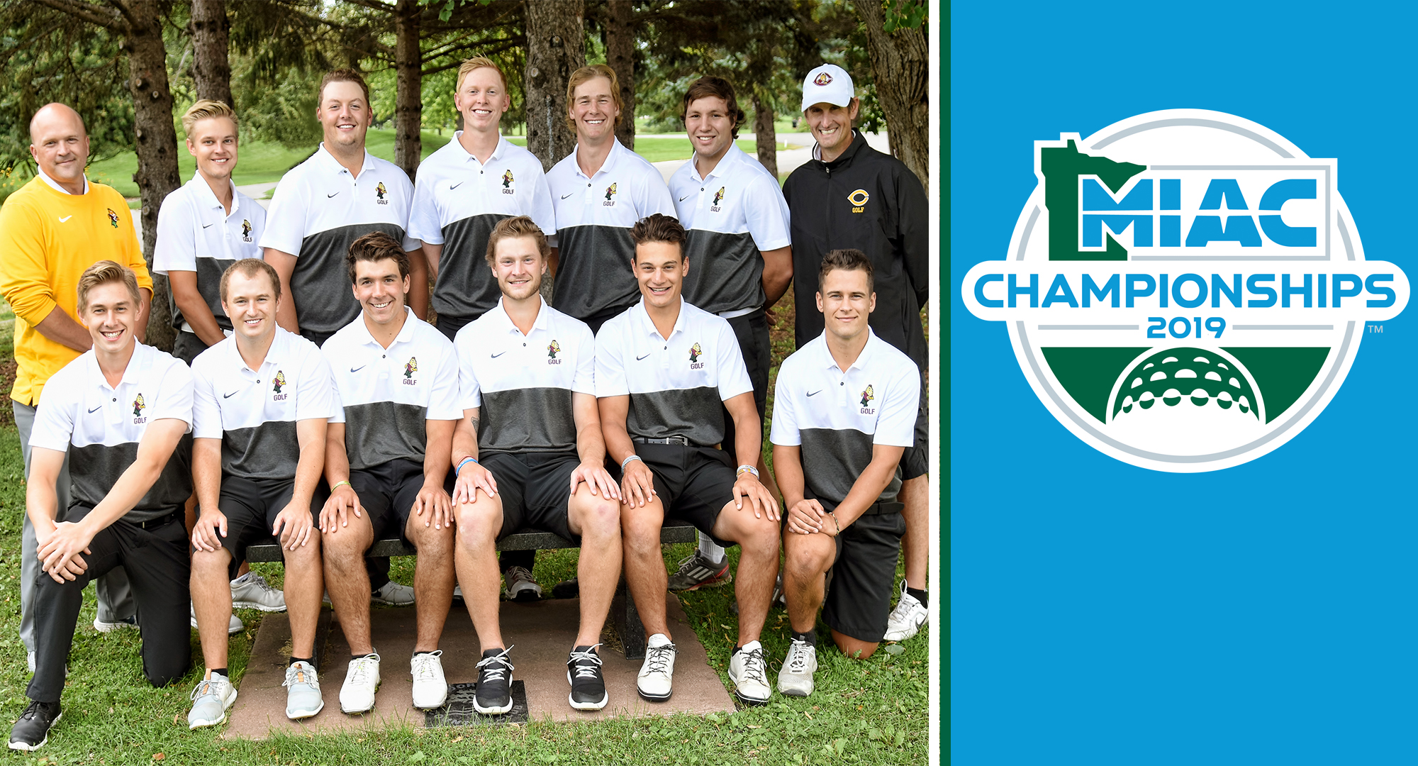 The Cobber men's golf team finished fifth at the MIAC Championship Meet.