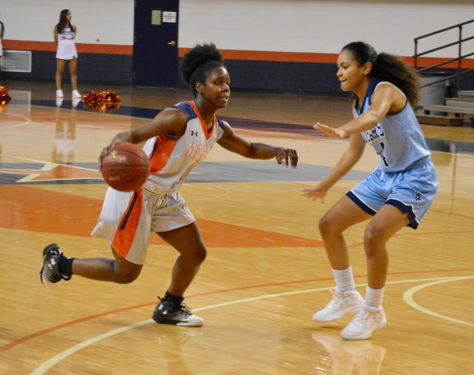 Lady Texans win third straight, down Coastal Bend 70-60 Wednesday night at the Texan Dome