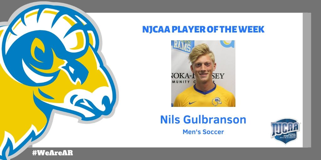 Gulbranson Earns NJCAA Player of the Week Honors