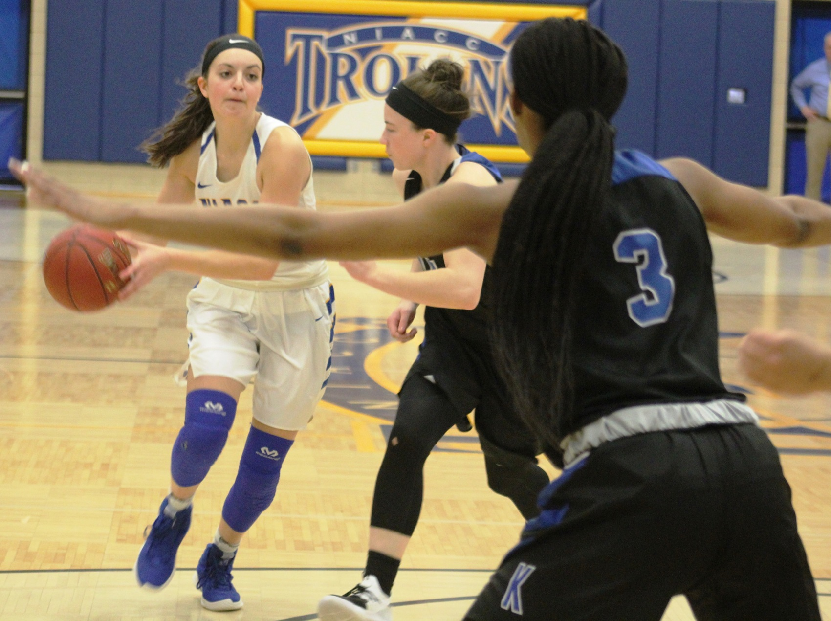 NIACC's Mandy Willems was selected as the national player of the week for the third time.
