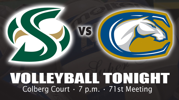 VOLLEYBALL HOSTS UC DAVIS TONIGHT AT 7 P.M.
