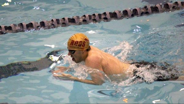 Men's Swimming and Diving Fall Close to Centenary in Final Dual Meet
