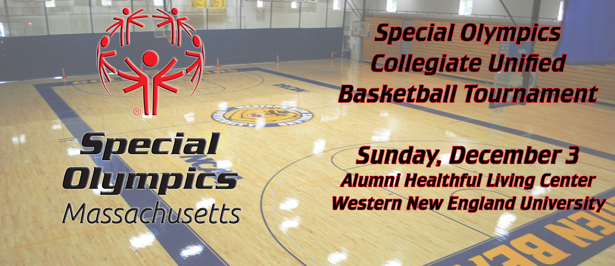 Western New England to Host First Special Olympics Collegiate Unified Basketball Tournament