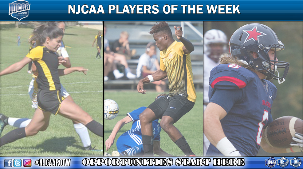Players of the Week  - (Oct. 30 - Nov. 5)