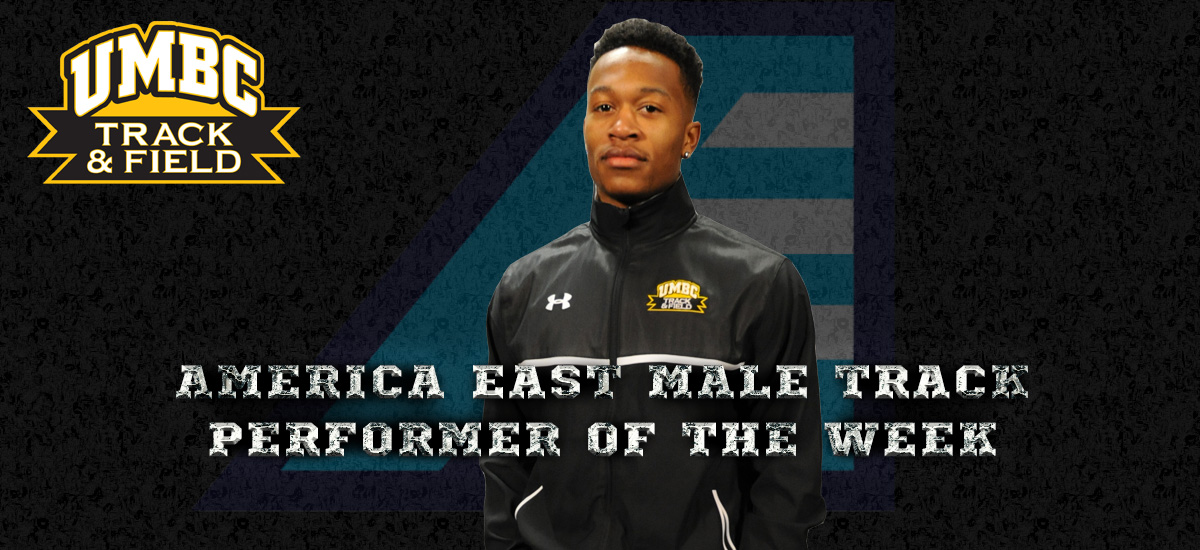 Nelson Named America East Male Track Performer of the Week