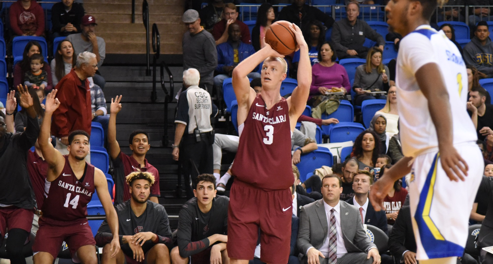 Men's Basketball Claims Road Win Over San Jose State
