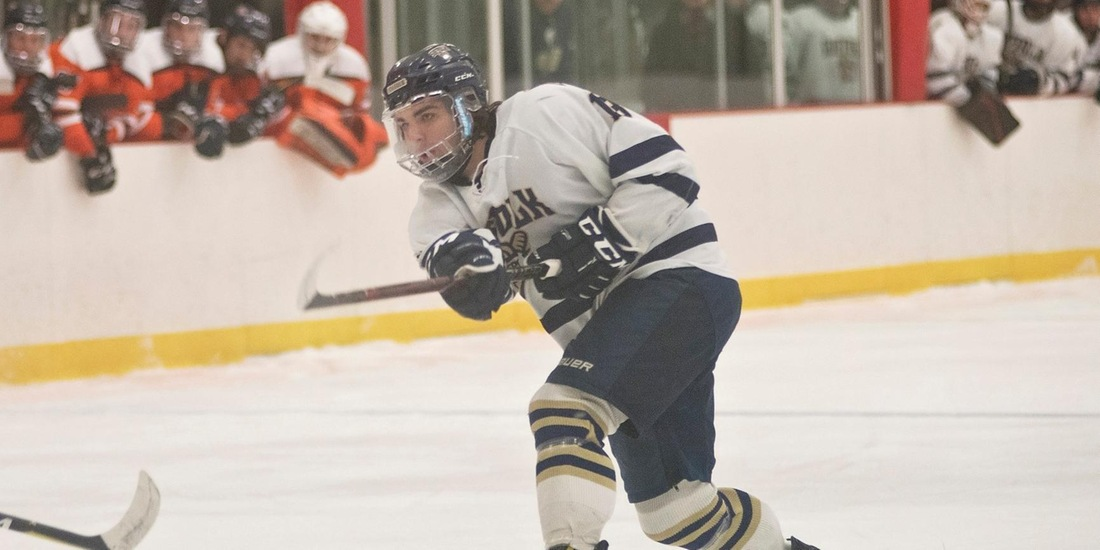 Second Period Sends Men's Hockey Past Salem State, 4-1