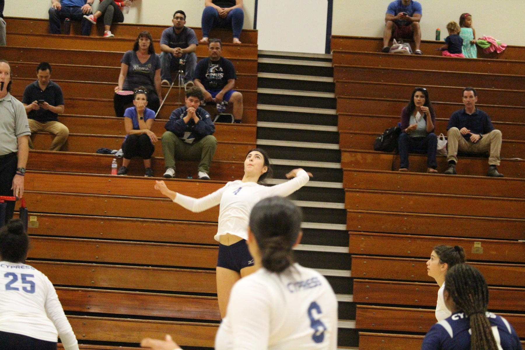 No. 12 Lady Chargers Sweep Hawks in OEC Home Opener