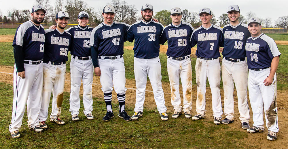 Rain and Maritime Spoil Baseball Senior Day