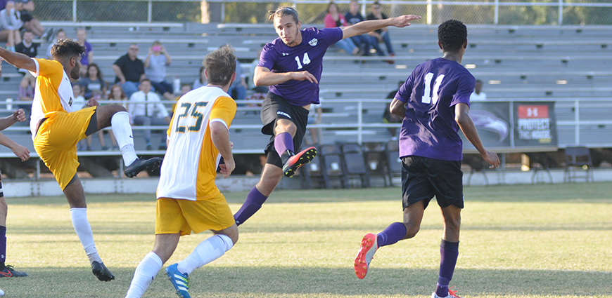 Eagles Drop Overtime Battle 1-0