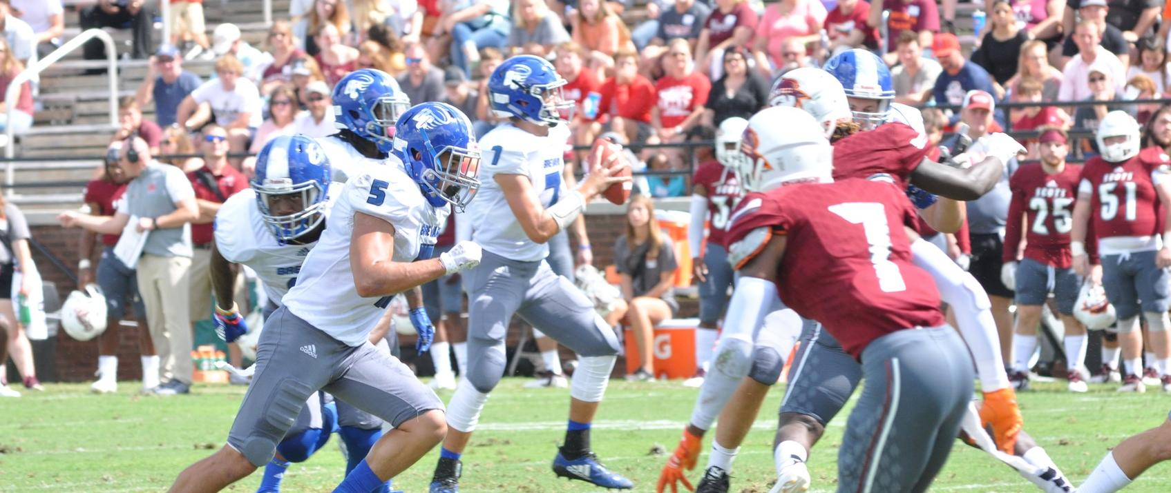 Dalton Cole and the Tornado offense prepare to take on the Maryville Scots for Homecoming on Saturday at Brevard Memorial Stadium (Courtesy of Tommy Moss).