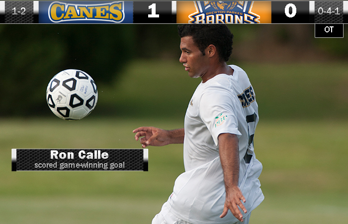 Calle Delivers Game-Winner In OT