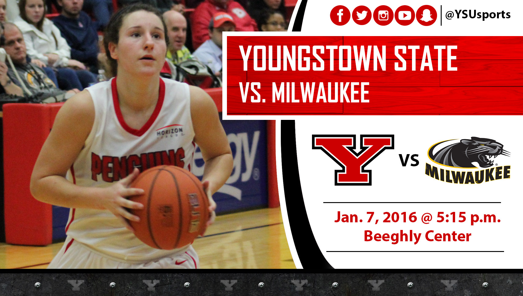 Nikki Arbanas and Youngstown State host Milwaukee on Thursday in its first Horizon League home game of the season.
