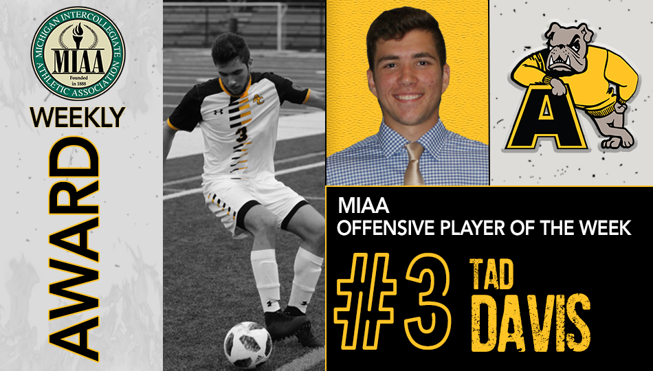 Davis Named MIAA Offensive Player of the Week