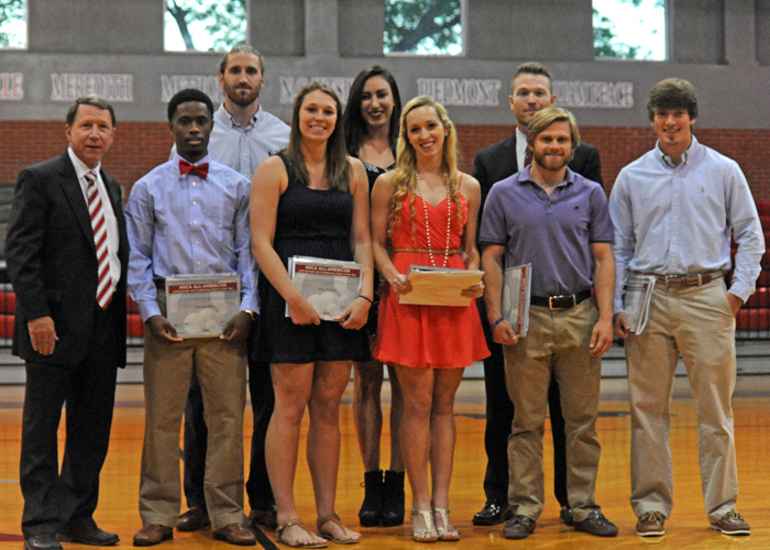 Seven Hawks named NSCA All-American Athletes of the Year