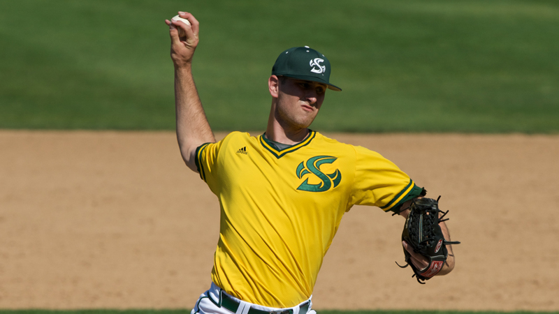 BASEBALL OPENS WAC PLAY WITH 4-2 WIN OVER TEXAS-PAN AMERICAN