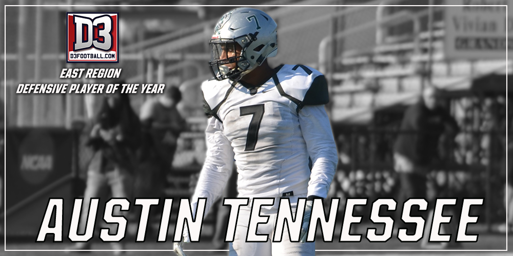 Austin Tennessee Named Regional Defensive Player of the Year by D3football.com