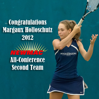 Holloschutz Garners Year-End NEWMAC Tennis Honors
