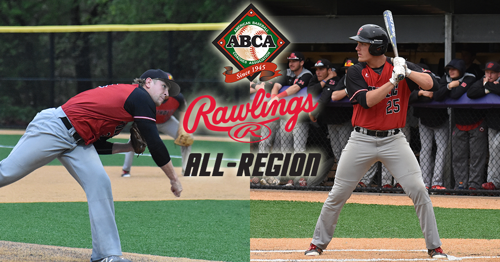 Cotter & Mierzwa Tabbed to ABCA / Rawlings All-Region Teams