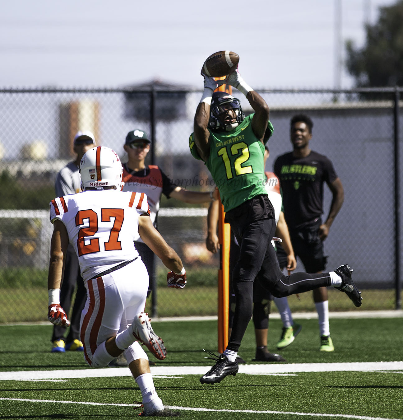 Football: Tough Red Zone Defense Carries Rustlers in 13-11 Victory Over Bakersfield