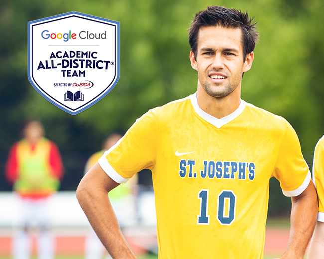 Duda Collects CoSIDA Academic All-District Honors
