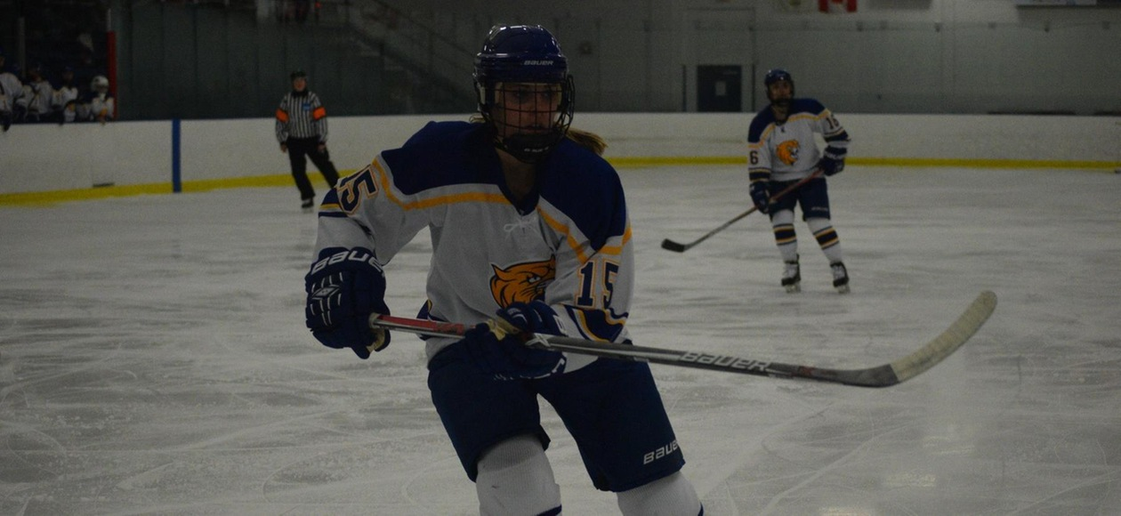 JWU Women's Hockey Beats UMass Boston 4-3