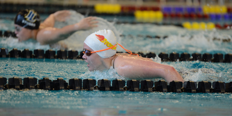 Storm women race pace Iowa Lakes in final home dual