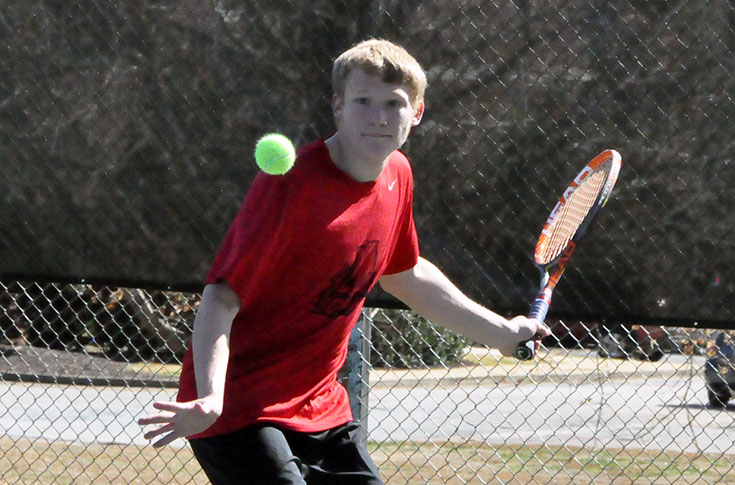 Men's Tennis: Panthers top Maryville 7-2 to pick up first USA South win
