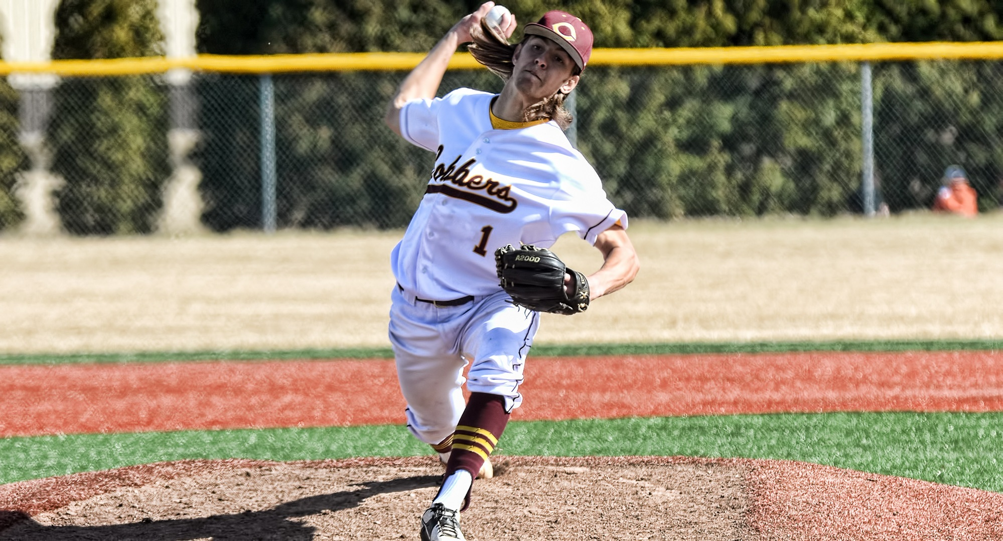 Junior pitcher Zack Nelson allowed just three hits and helped the Cobbers post a 3-2 win over DII Concordia-St. Paul in the first game of the doubleheader sweep.