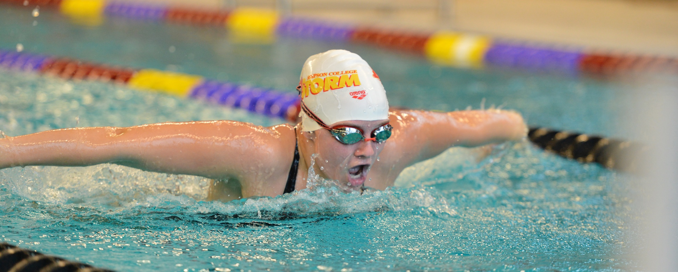 Women's swimming overpowers Iowa Lakes in home dual