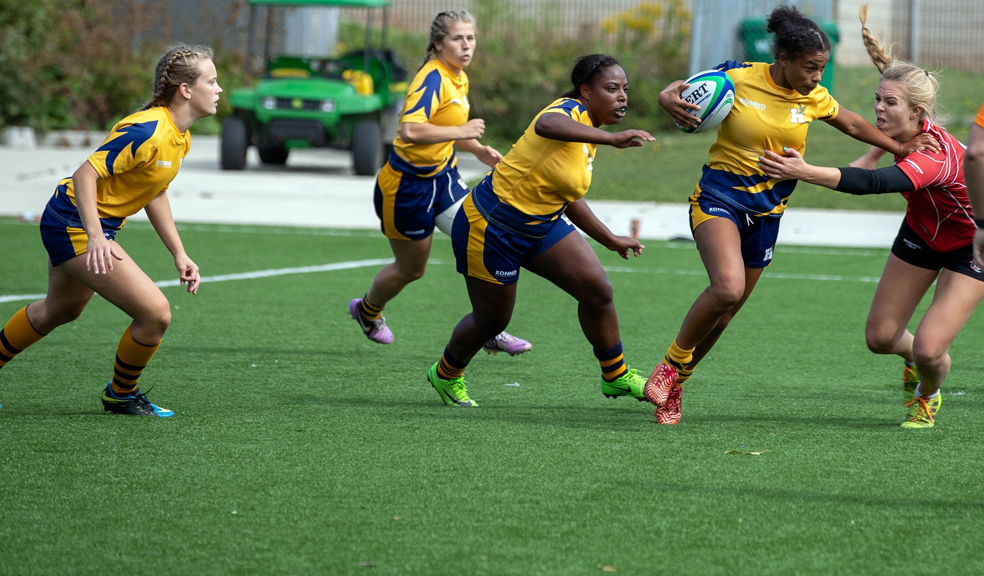 WOMEN'S RUGBY SEVENS ROLL TO THREE STRAIGHT WINS ON OPENING DAY
