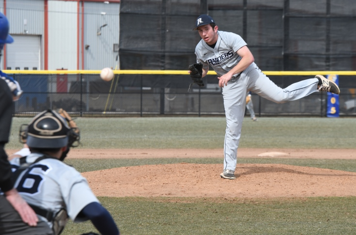 Baseball: Schaefer's gem guides Raiders to GNAC split with Colby-Sawyer