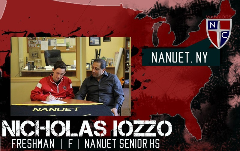 Men's Soccer Signs Nicholas Iozzo to National Letter of Intent