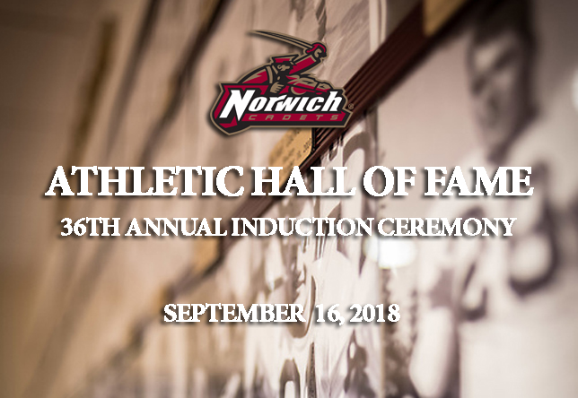 2018 Norwich University Hall of Fame Class