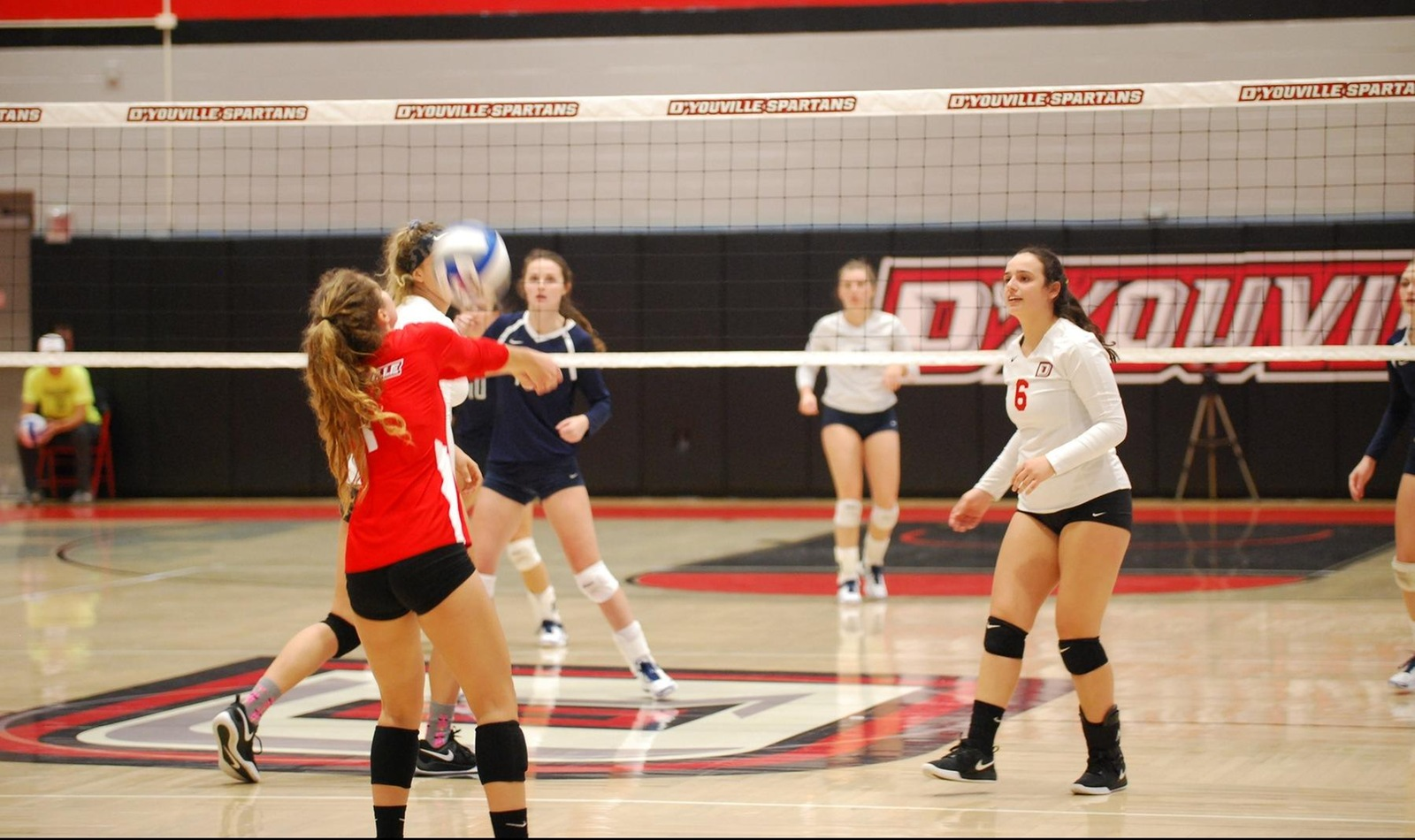 Women's Volleyball Drops Saturday Doubleheader