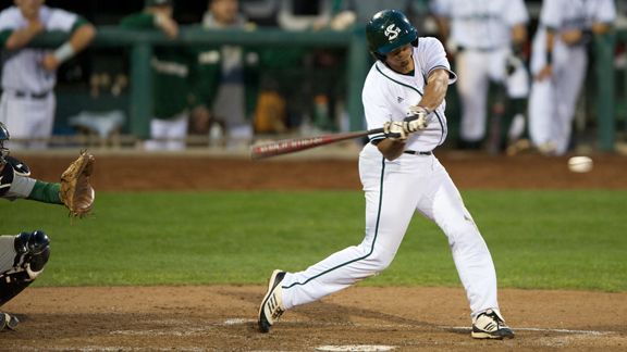 BASEBALL RALLIES FROM EARLY 6-1 DEFICIT, STUNS #4 OREGON STATE 7-6