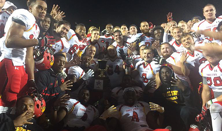 Ferris State Romps Past Rival GVSU To Claim Anchor-Bone Trophy For Fourth-Straight Year