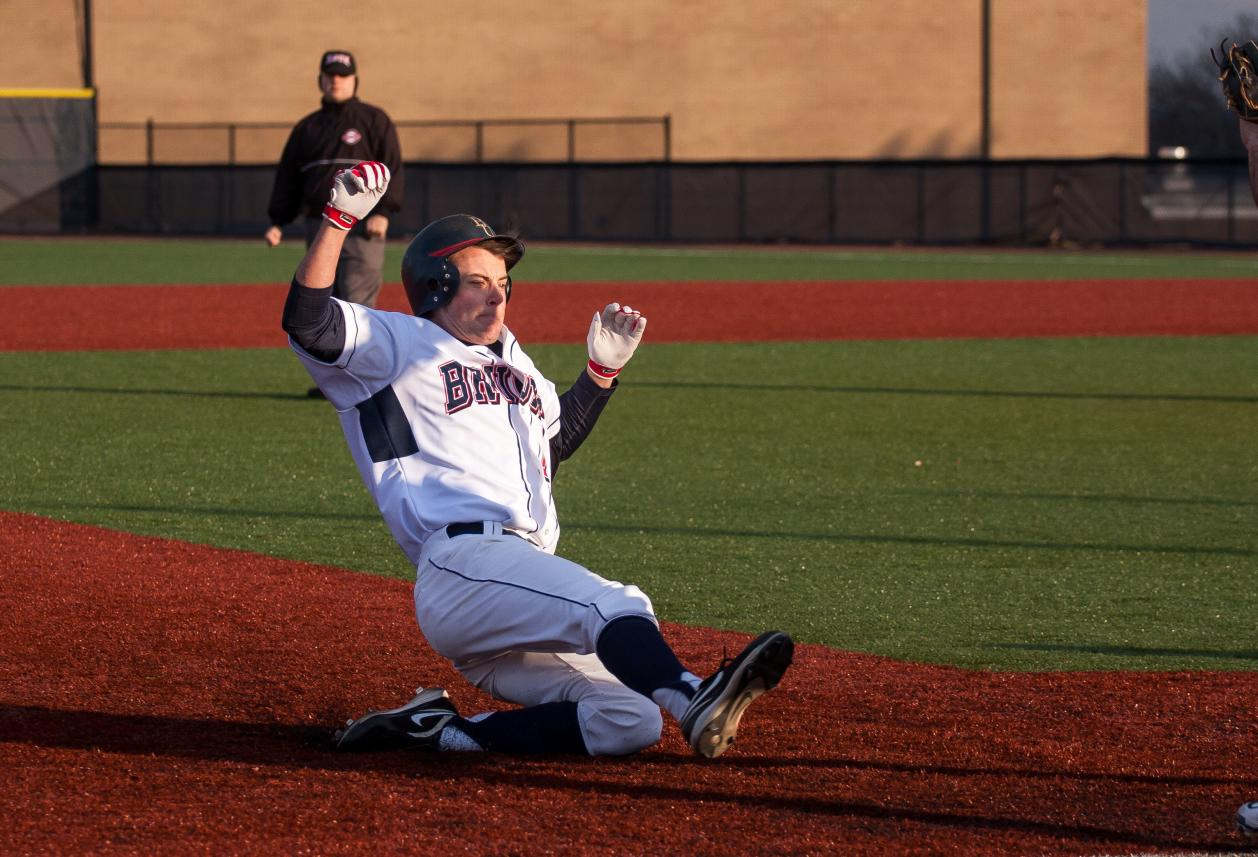 Baseball Hangs on For 4-3 Win on Opening Day